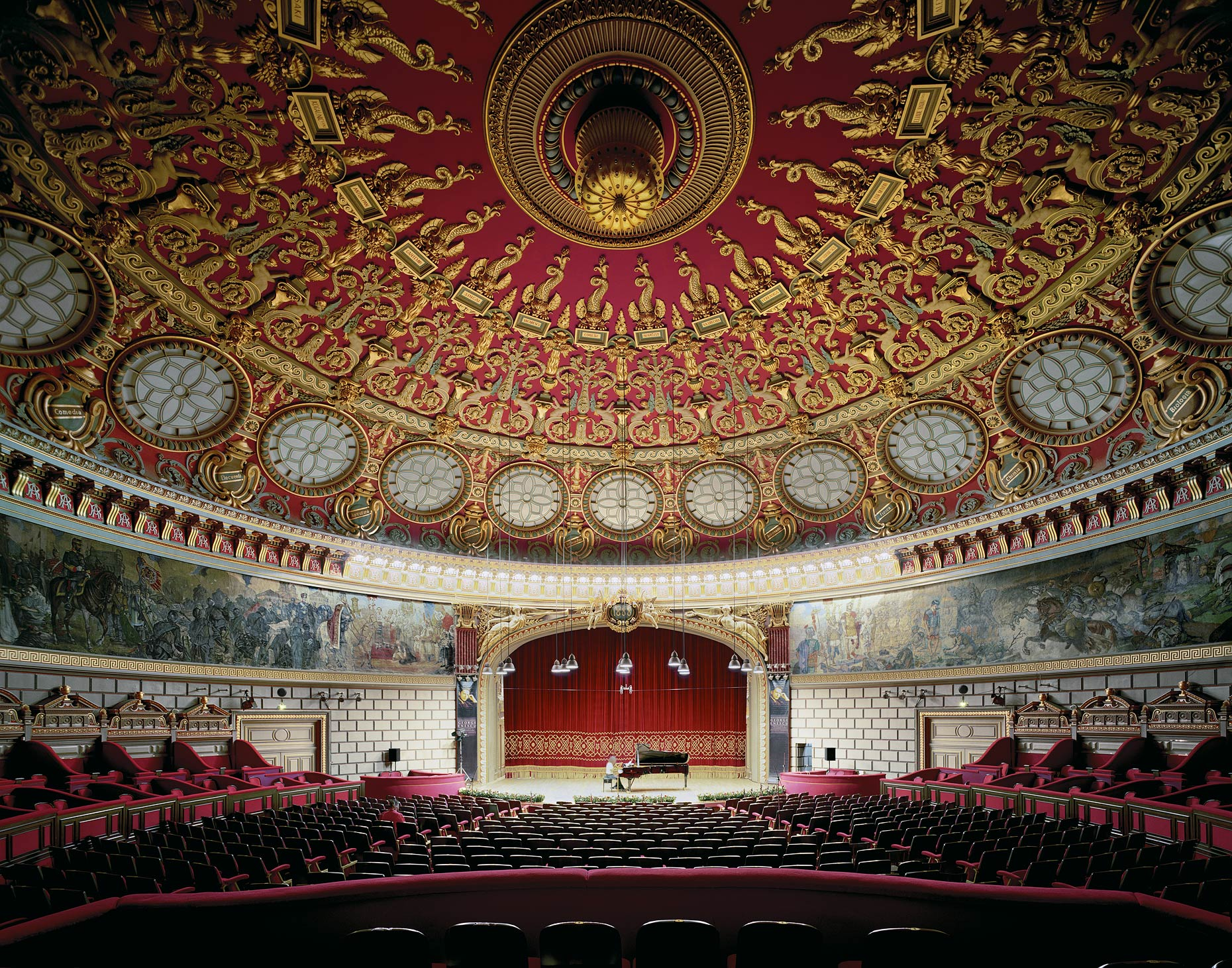 Romanian Athenaeum, Bucharest, Romania, 2007