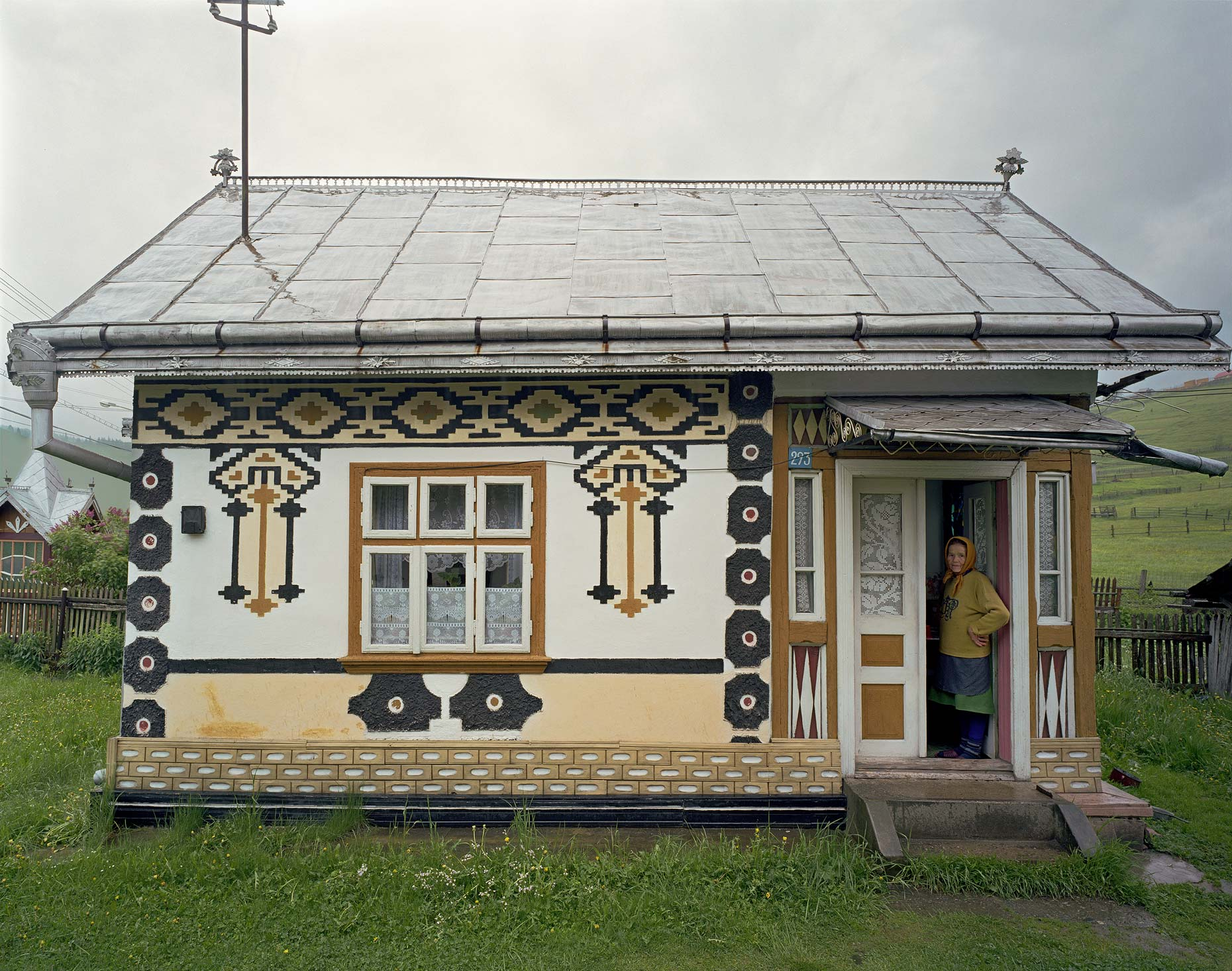 Traditional House No. 3, Ciocanesti, Bucovina, Romania, 2006