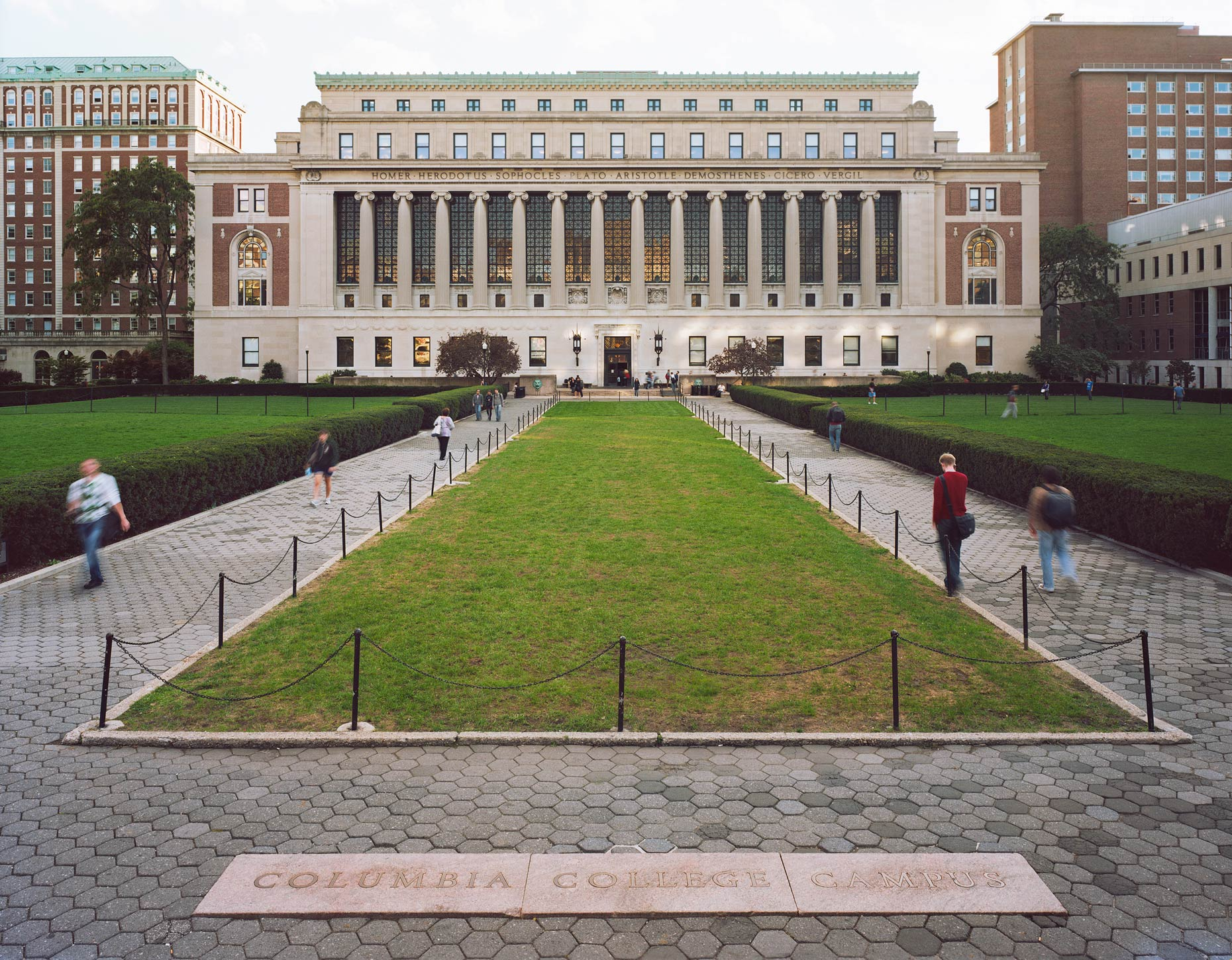 Butler Library, Columbia University, New York City, NY, 2011