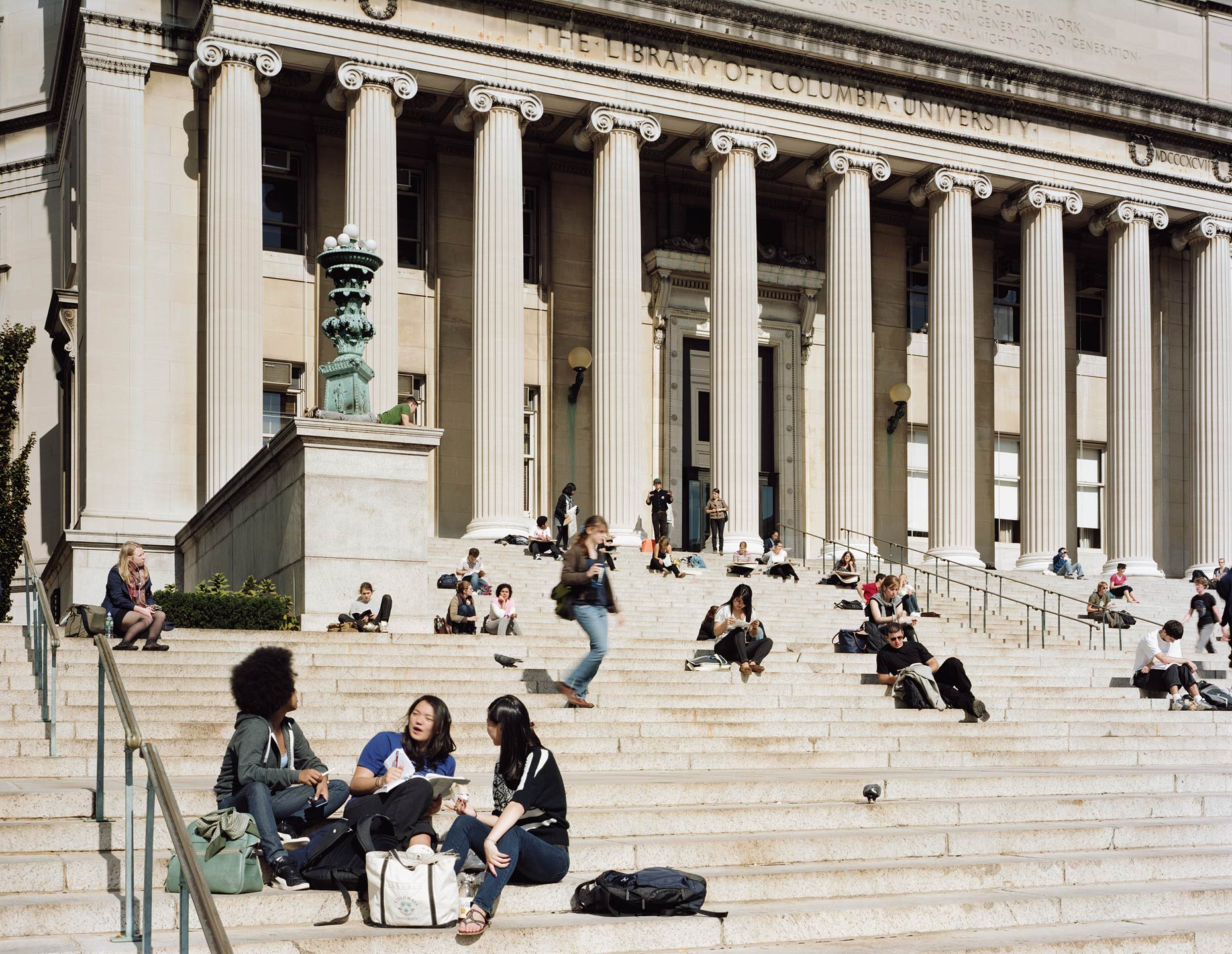 Low Memorial Library, Columbia University, New York, New York