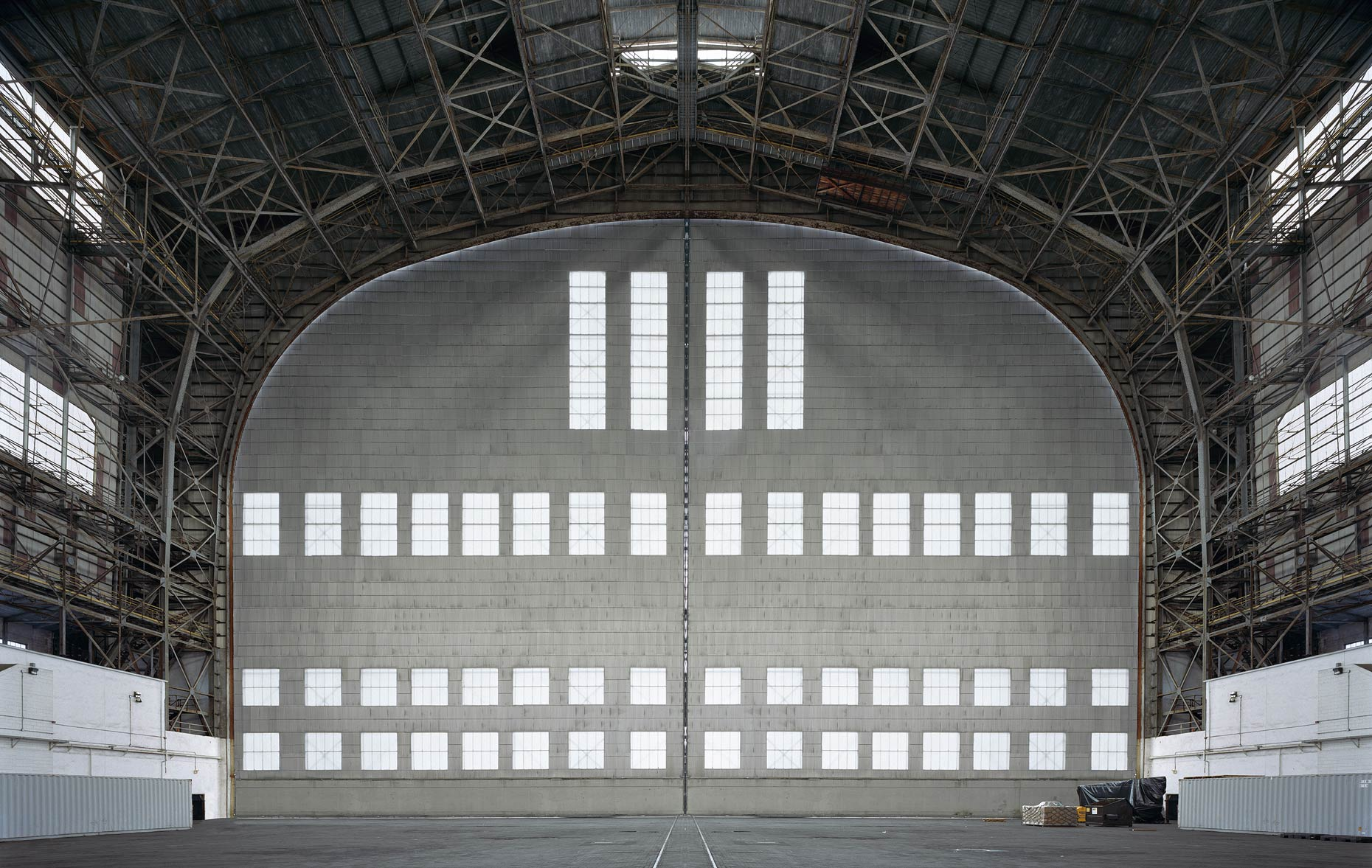 Hangar No. 1, Lakehurst Naval Air Station, Lakehurst, New Jersey, 2015