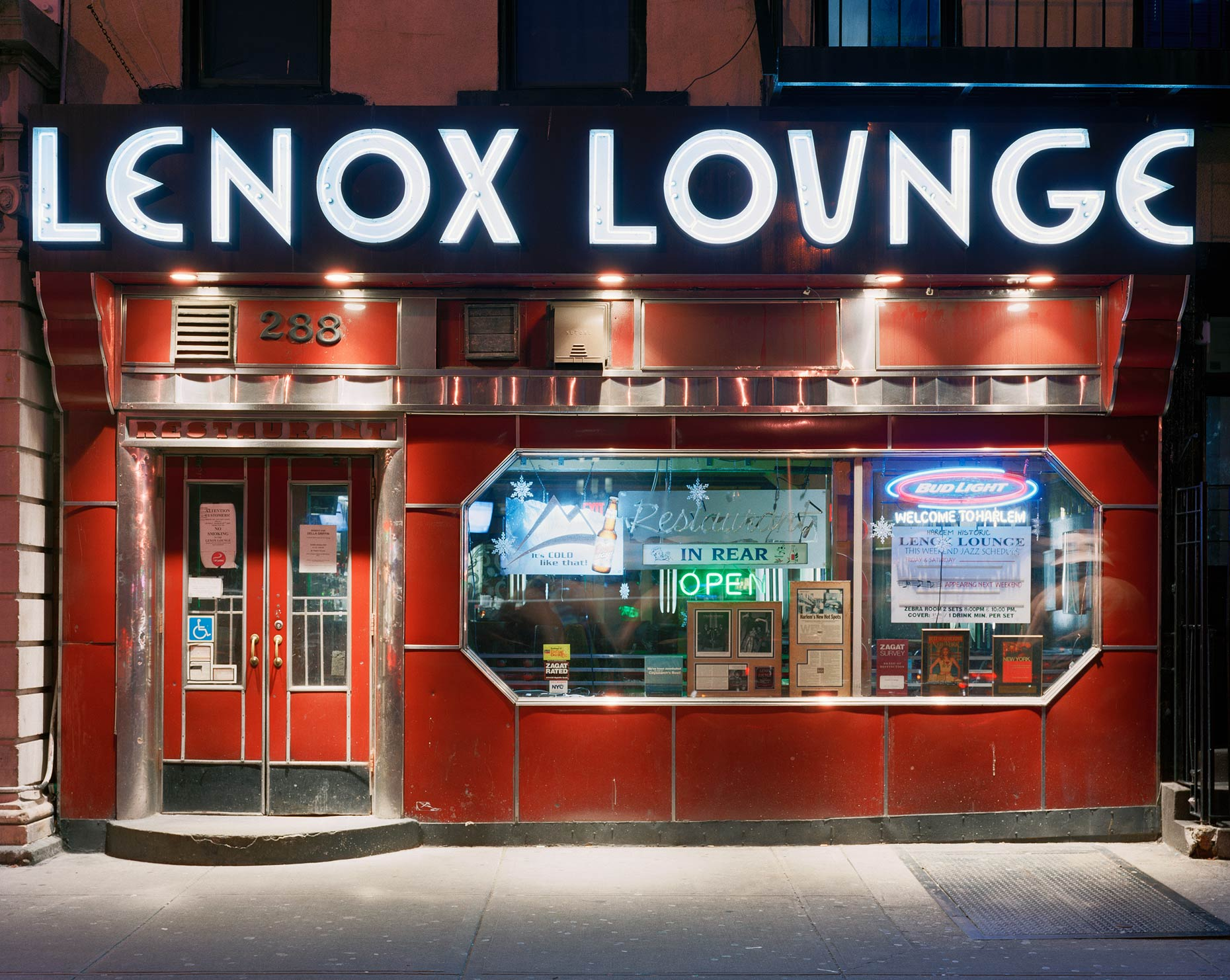 Lenox Lounge, 288 Lenox Avenue, Harlem, New York