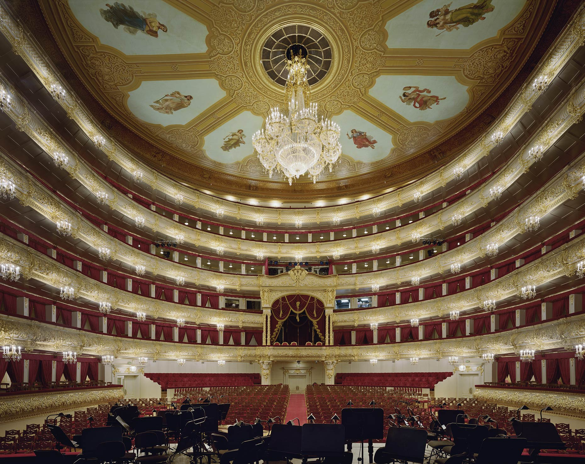 Bolshoi Theater, Moscow, Russia, 2011