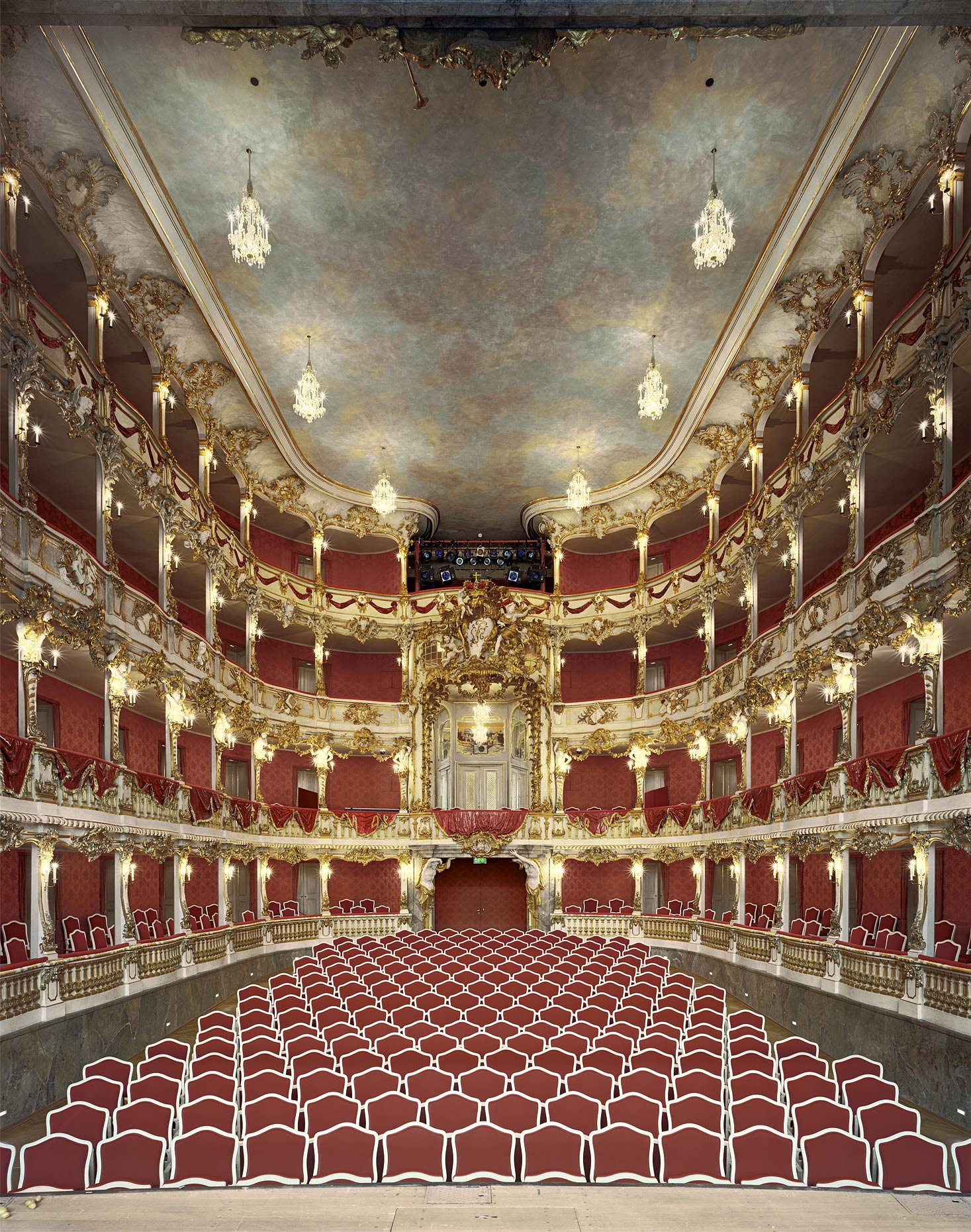 Cuvillies-Theater, Munich, Germany, 2009