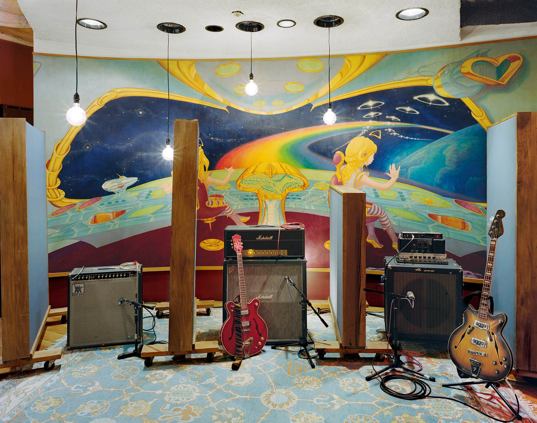 Studio A, Electric Lady Studios, New York City, 2014