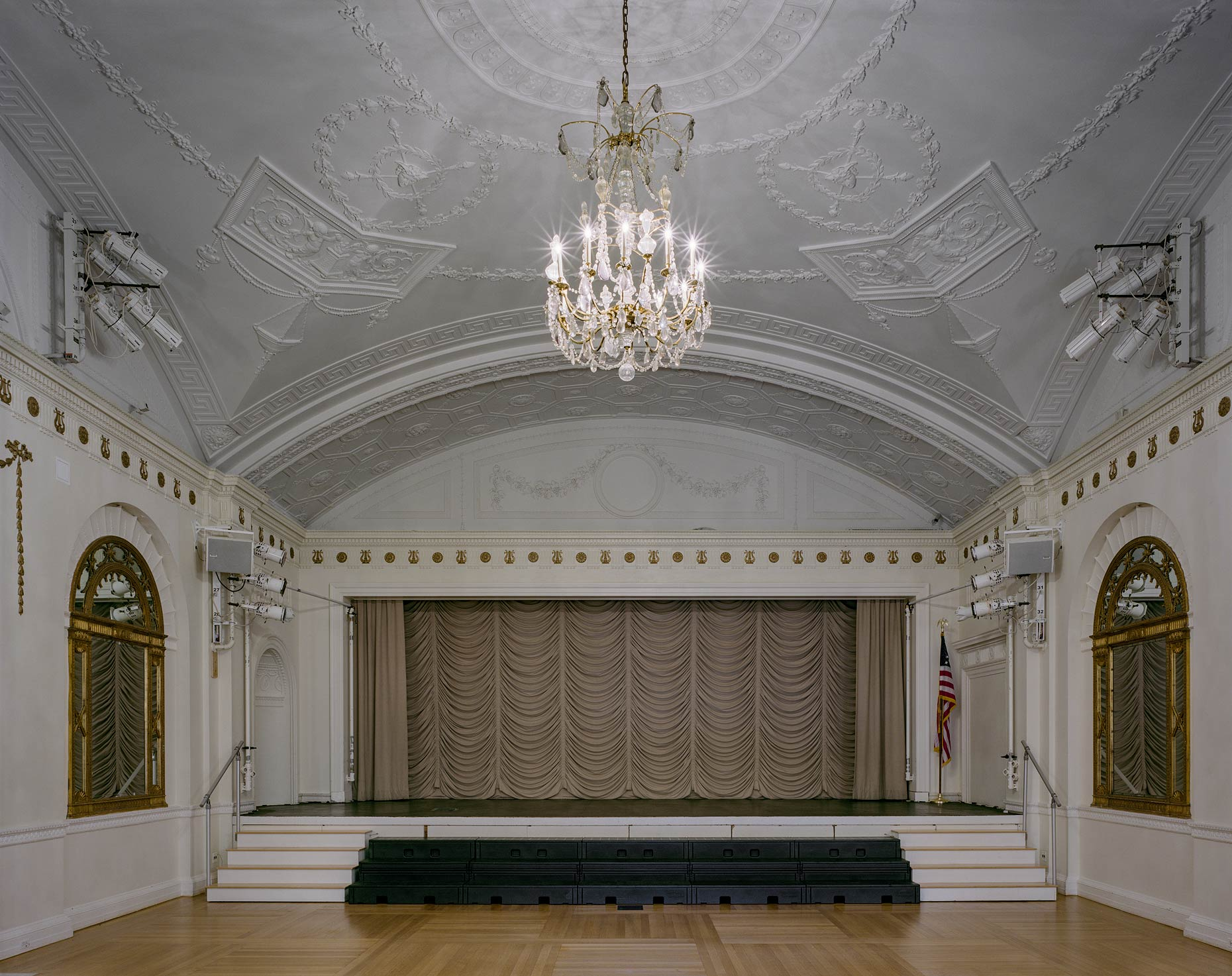 Auditorium, Convent of the Sacred Heart, 1 East 91st Street, New York City, 2015