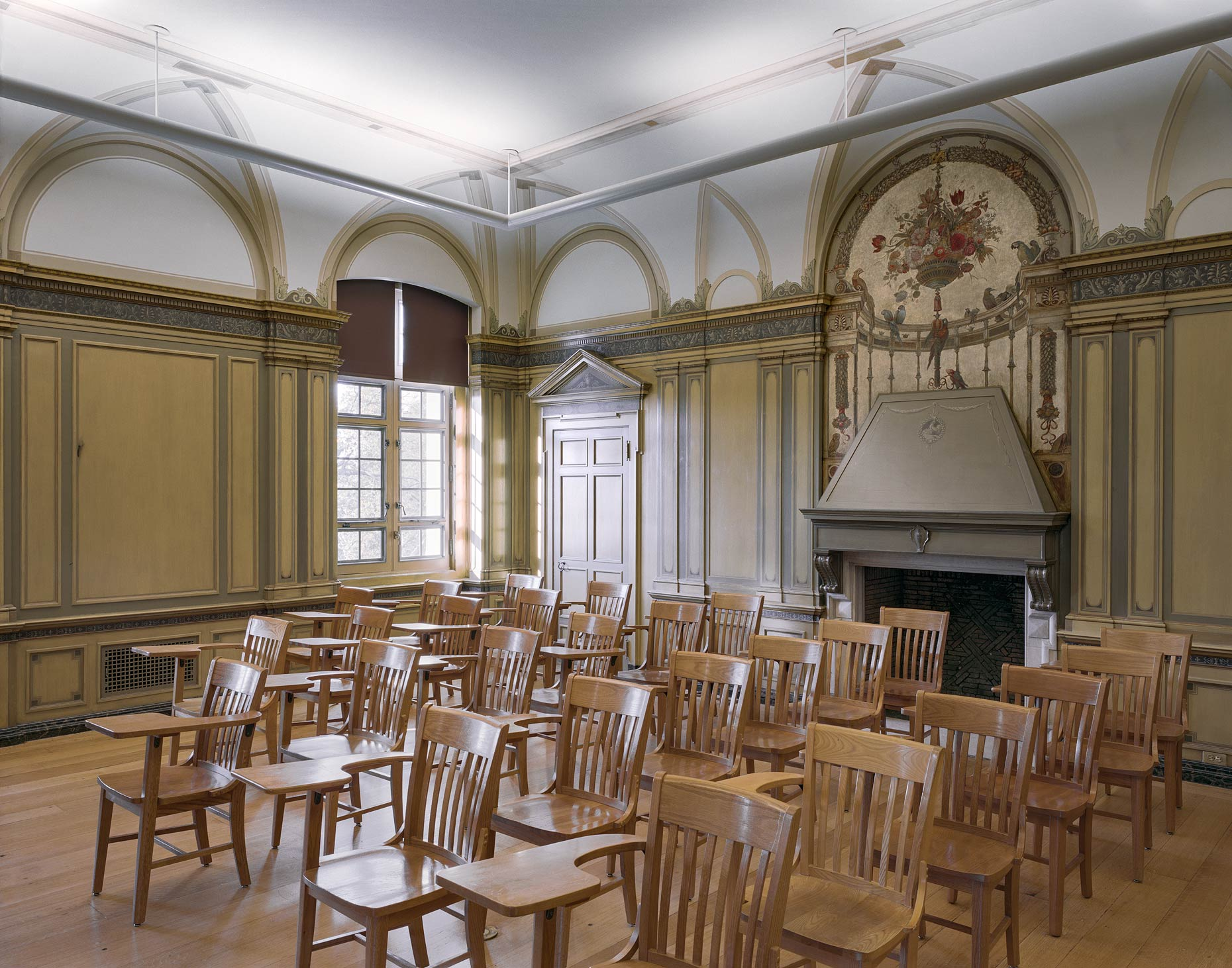 Classroom, Convent of the Sacred Heart, 1 East 91st Street, New York City, 2015