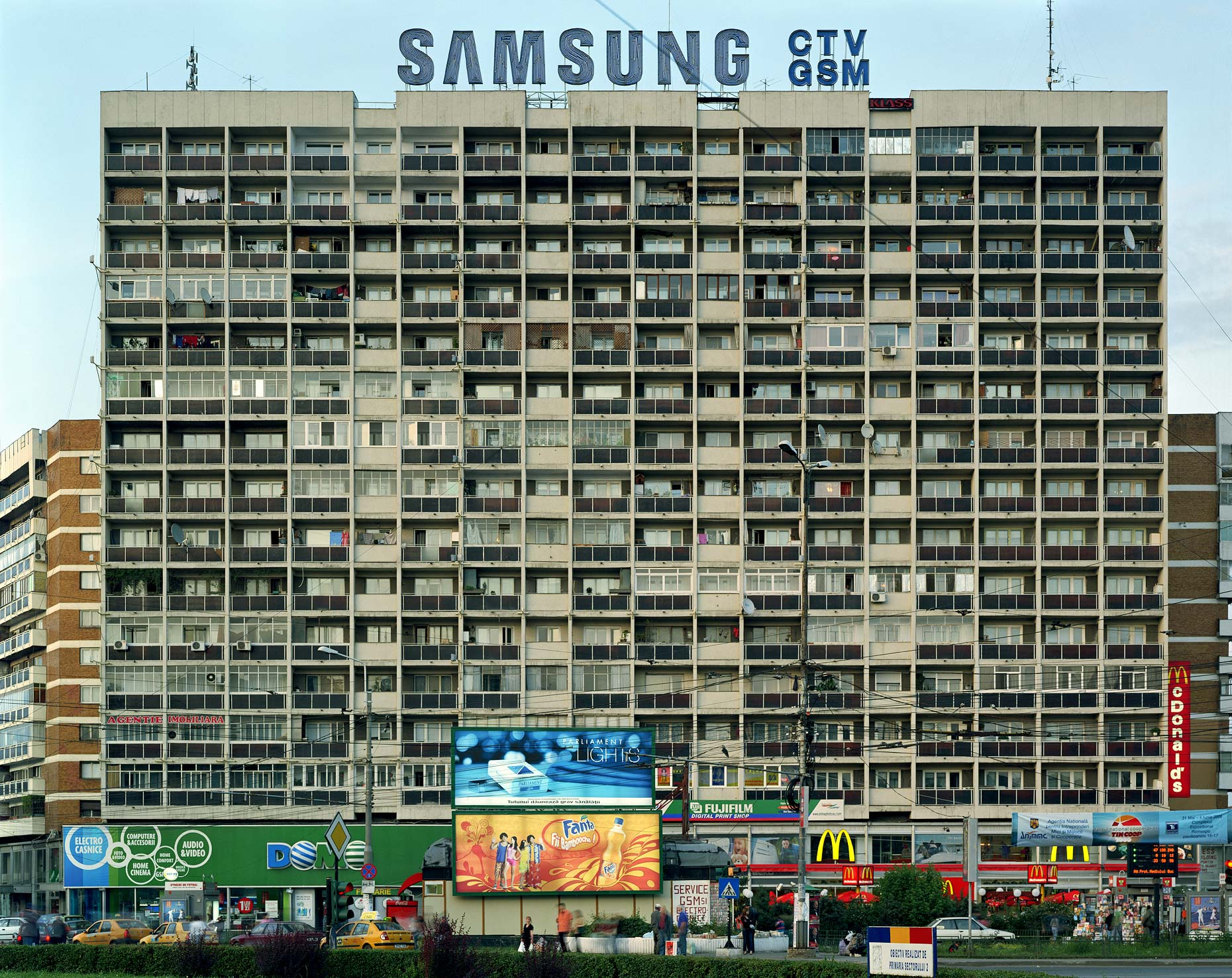 Samsung Building, Bucharest, Romania, 2006