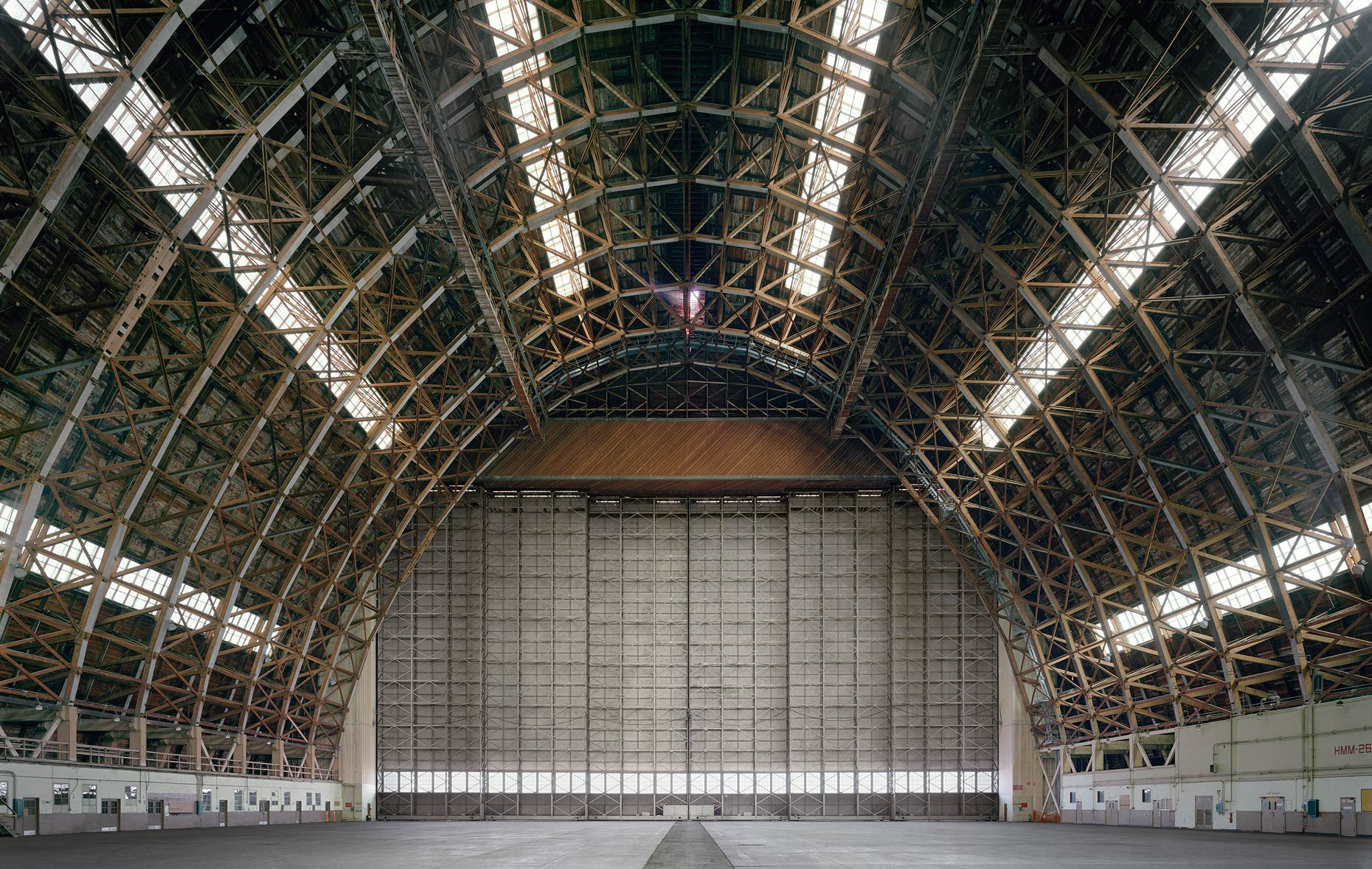 Hangar No. 2, Marine Corps Air Station Tustin, Tustin, California, 2015