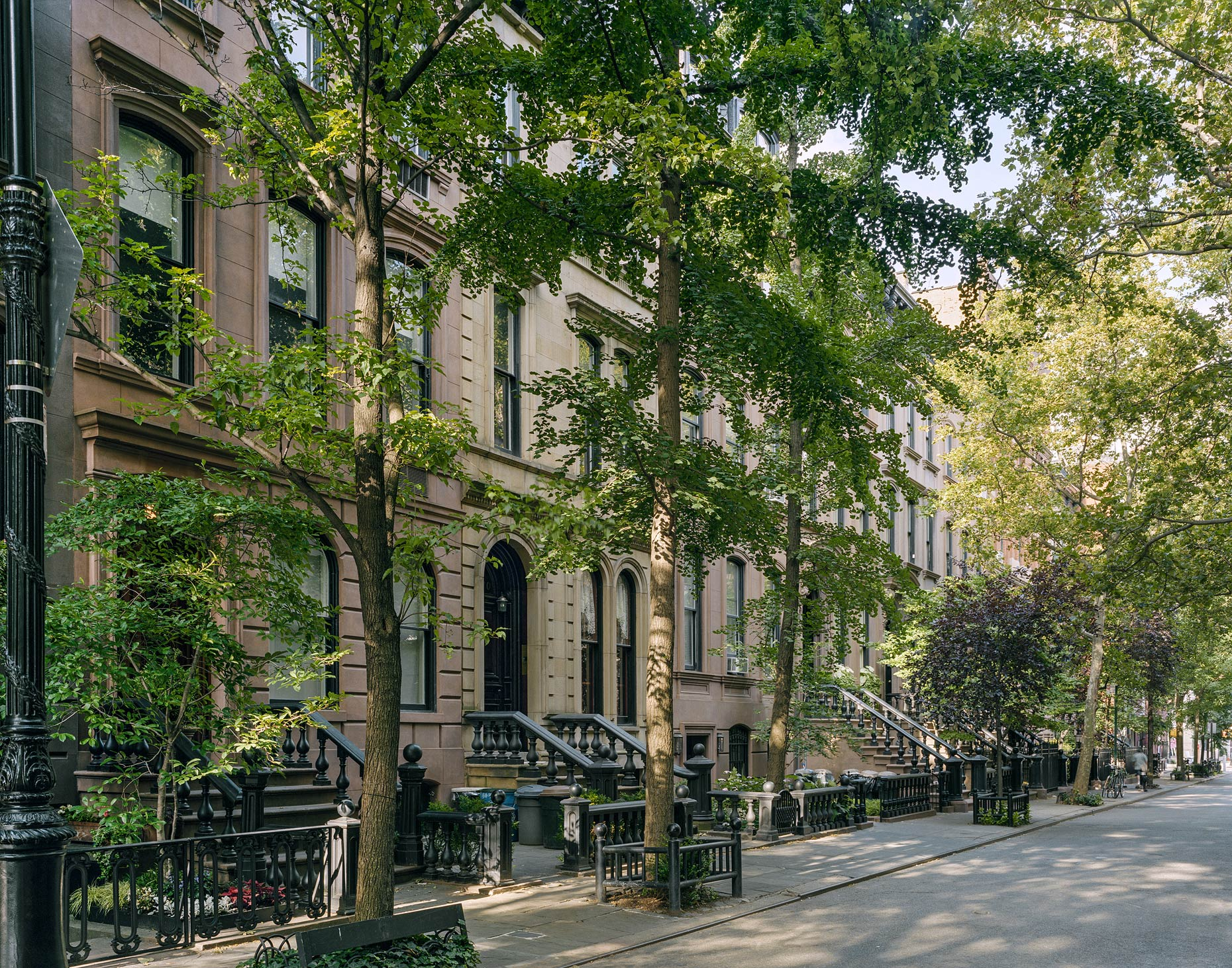 Brownstones, West Village, New York