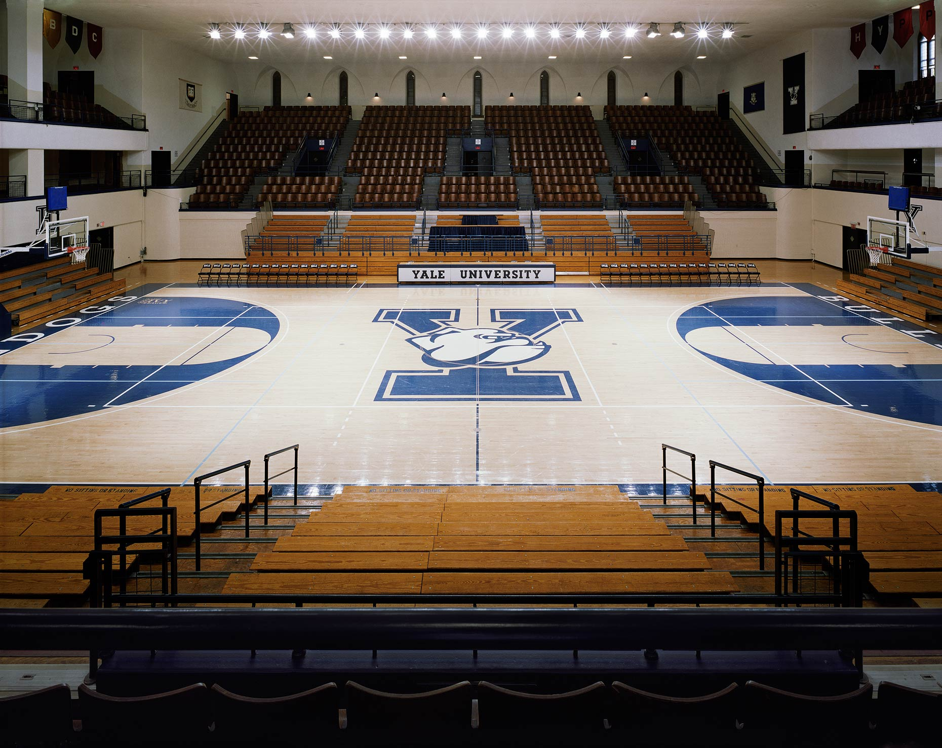 Payne Whitney Gym No. 2, John J. Lee Amphitheater, Yale University, New Haven, Connecticut, 2011