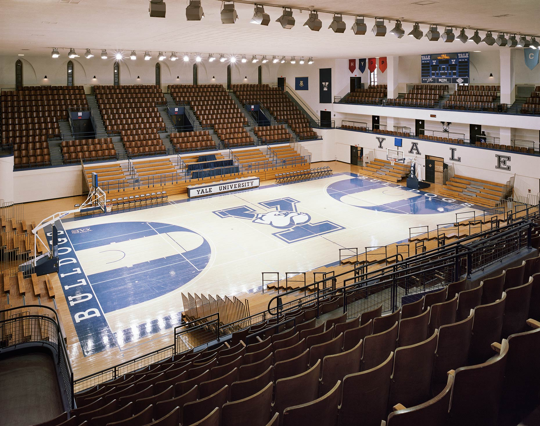 Payne Whitney Gym No. 1, John J. Lee Amphitheater, Yale University, New Haven, Connecticut, 2011