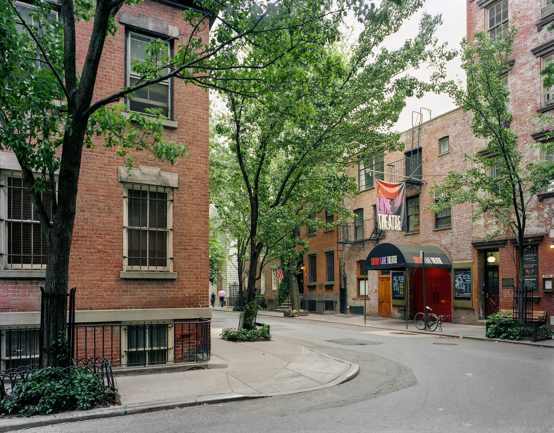 Cherry Lane Theatre, 38 Commerce Street, West Village, New York